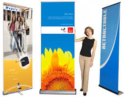 Retractable Display Stands Horizontal Banner Stands Retractable Rotating Retractable Banner 87