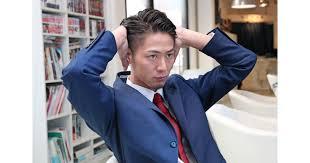 ビジネスに艶アリ七三分け 安倍首相のヘアも参考にmens Fashion