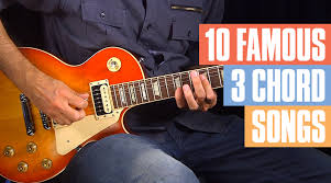Easy Guitar Chord Progression Chart 10 Famous Songs With Three Chords Or Less Guitar Tricks Blog