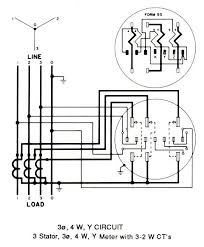 kwh meter wiring diagrams 9s 8s meter type
