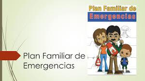 Plan Familiar De Emergencias Ppt Video Online Descargar