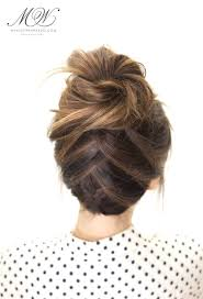 How Todo Hair Style how to do the amazing tuxedo braid messy bun hairstyle tutorial 7648 by wearticles.com