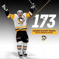 flyers vs penguins history with his goal against the flyers on april 18 2018 sidney crosby