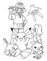 Pokemon Coloring Malen Pinterest Coloriage Petite Enfance