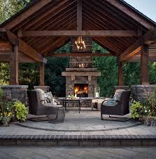 best 25 outdoor fireplace designs ideas on outdoor
