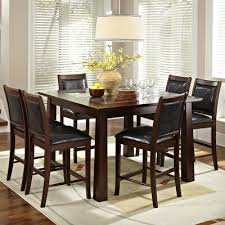 seven piece dining set:  granita  piece counter height dining set
