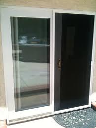 glass patio door with screen images