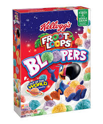 love this kellogg s froot loops bloopers cereal