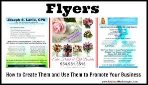 10 Design Tips To Make A Professional Business Flyer A Flyer Or