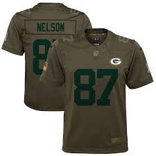 Jersey Nelson Bay Packers Green