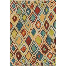 orian rugs dazzl diamond indoor novelty area rug common 8 x 11 actual