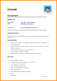 Resume Of Accountant In India Format Fresh Mbbs Resume Sample