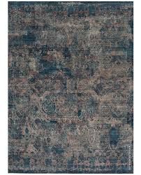 a blue and grey rug carpet available through david e adler oriental rugs in
