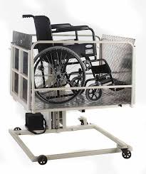 Wheelchair Assistance Exterior wheelchair lifts