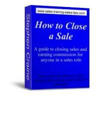 Closing A Sale Using An Alternative Close