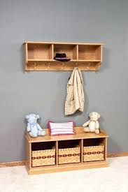 Coat Rack With Storage Shelves Cool Wall Coat Hooks With Shelf You Should Make This Coat Hook Shelf