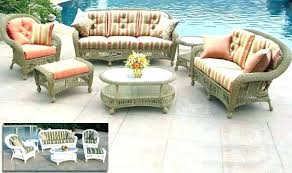 outdoor replacement cushions for wicker patio furniture loveseat cushion covers