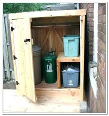outdoor trash can storage ideas oor trash can storage cabinet outside ideas build garbage outdoor trash can storage ideas