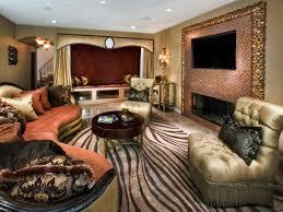 Zebra Living Room Decorating Photos Charles Neal Hgtv