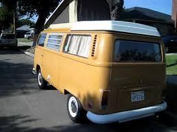 volkswagen van original interior. 1972 volkswagen westfalia camper bus with original paint and interior for sale van