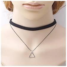 hiamok new women charm bohemia y black leather choker necklace jewelry
