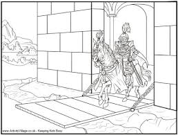 Small Picture Printable Coloring Pages Knights Maelukecom