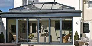 house extension with a roof lantern