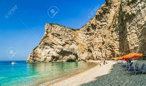 Paradise Beach, Corfu Island, Greece. Paradise Beach Is One Of.. Stock  Photo, Picture And Royalty Free Image. Image 50427452.
