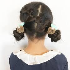 子供の結婚式の髪型画像12選女の子の簡単なヘアアレンジは Belcy