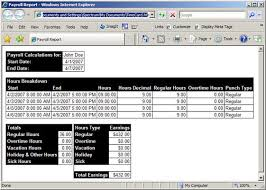 Payroll Time Calculator Time Card Calculator Software