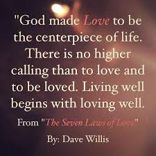 Laws Of Life Quotes The Seven Laws of Love Quotes from the book 42