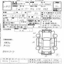 inspection sheet japanese used car exporting inspection sheets