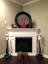 how to decorate a corner fireplace postalgia