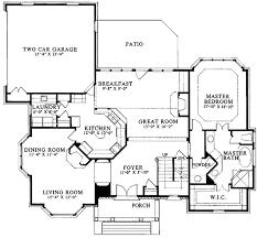 Classic House Plans  Burnham 30481  Associated DesignsClassic Floor Plans