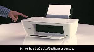 imprimir uma página de teste nas impressoras hp deskjet 1510 e deskjet ink advantage 1510