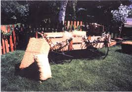 western outdoor wedding decorations