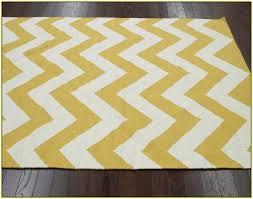 chevron mustard colored rugs