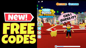 We keep the roblox yba codes list updated with new working codes, as well as, separating. New Free Codes Guess The Famous Characters Gives Free Coins Free Gem In 2021 Roblox Free Gems Roblox Gameplay