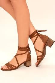 steve madden revere heels brown suede leather heels lace up heels 89 00