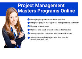 top 20 project management masters