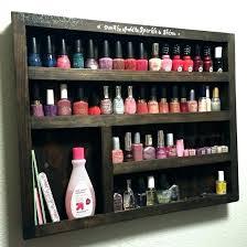 nail polish organizer case diy rack bottle holder