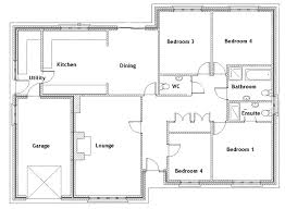 bungalow floor plans elegant best house ideas on small garden log 3 bedroom pdf