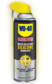 wd 40 specialist water resistant silicone lubricant