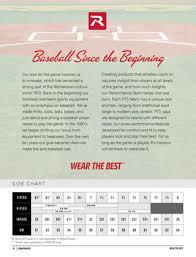 The Game Headwear Size Chart Richardson Custom Cap Catalog 2017