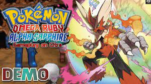 https://youtu.be/4iJs8XVaxg8 Pokemon Omega Ruby Alpha Sapphire Special Demo  - Full Gameplay on Citra