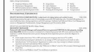 Sample Resume Sample Hr Generalist Resume Resume Examples