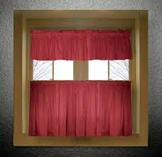valance curtains for kitchen lovely red kitchen valance curtains inspiration with red color tier kitchen curtain