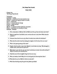 good essay questions for the things they carried   homework for yougood essay questions for the things they carried