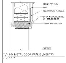exterior door jamb detail. Sikesdesign.com Hollow Metal Door As Built Head Detail | By Www.Sikesdesign.com Exterior Jamb E