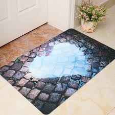 Non Slip Kitchen Floor Mats 40x60cm 3d Cool Funny Room Door Mat Bathroom Kitchen Non Slip